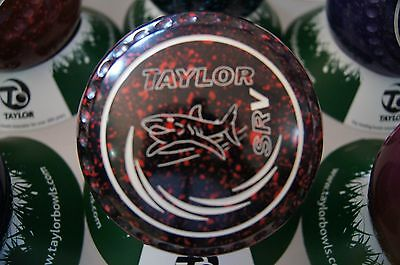 New Taylor Bowls SRV - Half Pipe Grip Size 3 - Blk/Red