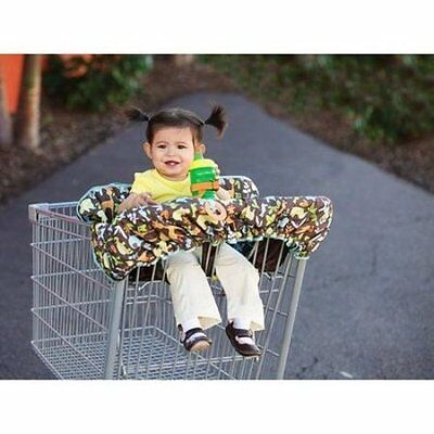 Infantino Compact 2-in-1 Shopping Cart Cover - NEW