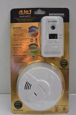 Carbon Monoxide, Natural Gas, Slow Fires, Fast Fires, Smoke Detector MDS300-401