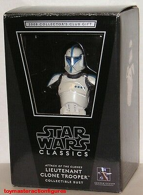 GENTLE GIANT CLASSICS (AOTC) LIEUTENANT CLONE TROOPER 2008 PGM GIFT In Stock
