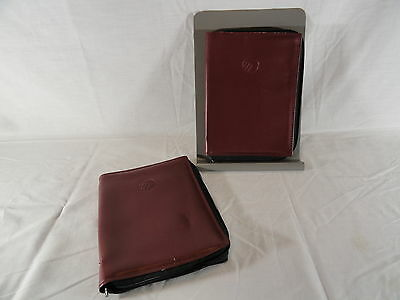 2 Maroon Mercury Owner's Manual Covers