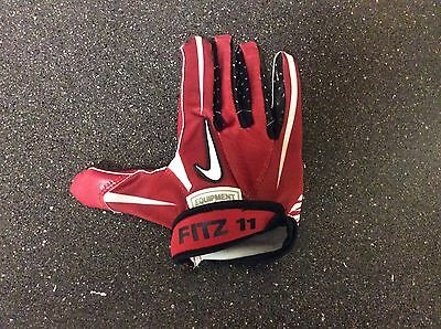 Larry Fitzgerald #11 Arizona Cardinals NFL Nike Game Used Worn Glove