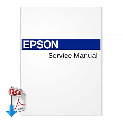 EPSON Stylus Pro 7400 7800 9400 9800 Plotter English PDF Service Manual by email