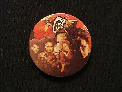 The Cure Large Vintage Button Badge Pin Uk Import