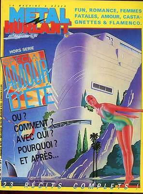Metal Hurlant N°H.s 4. Special Amour D'ete. Ed Humanos. 1982.