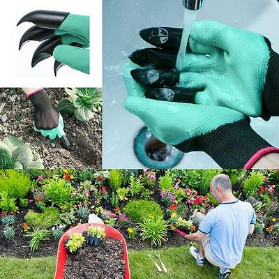 2Pcs Garden Gloves Planting Flower Claws Protective Tool Safety Home Party Kids
