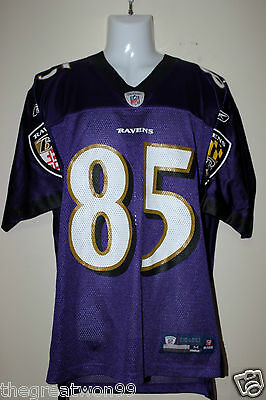 NFL Baltimore Ravens #85 MED 2010 7009A Printed Gridiron Jersey by Reebok