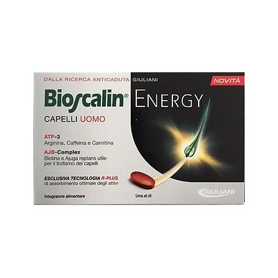 BIOSCALIN ENERGY Capelli Uomo Tecnologia R-PLUS 30 Compresse