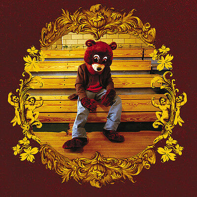 """Kanye West The College Dropout Album Art Poster 24""""x24"""" 18""""x18"""" Music Silk"""