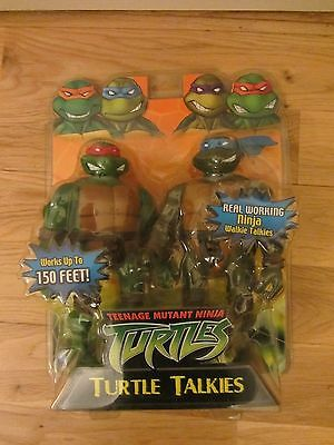 Teenage Mutant Ninja Turtles Turtle Talkies New In The Packet 2004 Playmates.
