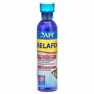 API Melafix 237ml Natural Treatment Bacterial Fish Tank Reduces Disease PH