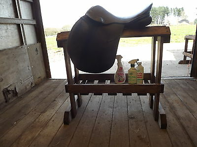 Wooden Saddle Stand