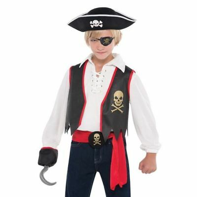 Deluxe Pirate Kit Child Fancy Dress Book Day Costume Accessories