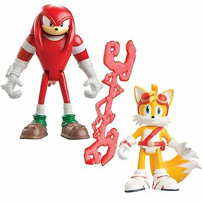 Sonic Boom Pack Of 2-3 Inch Plastic Figure Toy - Knuckles & Tails