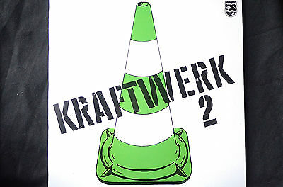 "Kraftwerk 2 Second Album + insert Philips reissue 12"" vinyl LP"