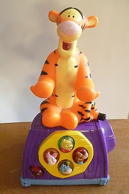 Disney Mattel Winnie-The-Pooh Phone With Sounds Toy 2002  - No Handset