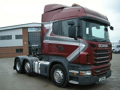 SCANIA R440 HIGHLINE 6x2 TRACTOR UNIT 2012
