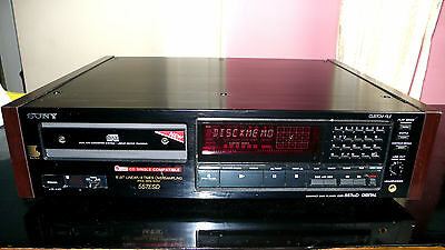 Sony 557ESD CD-Player High End sehr guter Zustand Holzoptik TOP 18 Kg Bolide