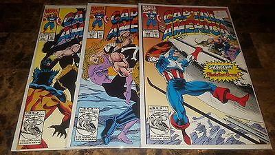 Captain America: #409, 410, 411 Showdown with Skeleton Crew Lot by Marvel Comics