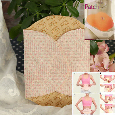hot 5pcs Patches Korea Belly Fat Lose Weight abdomen Treatment body diet