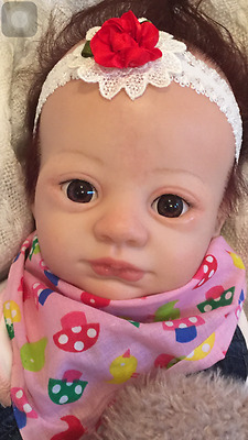 "Adorable Reborn Baby Girl Doll ""Adeline"" - from Marissa May sculpt ""Juliet"""