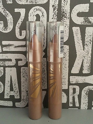 Barry M Cosmetics RADIANT ROD Highlighter,Chunky, Contouring Crayon x 2 *SEALED*