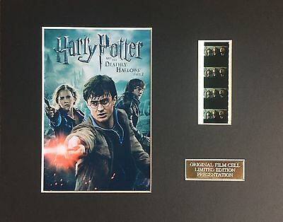 Harry Potter Characters 35mm Film Cell Display - cells as shown