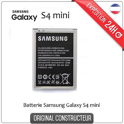 BATTERIE ORIGINE ORIGINALE NEUVE GALAXY S4 MINI i9190 i9195