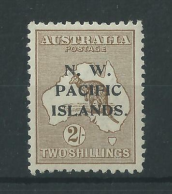 New Guinea 1919 2/- Roo NW Pacific Islands Opt SG115 MNH Cat£21