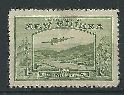 New Guinea 1939 1/- Air Mail Postage SG221 Mint Cat£40