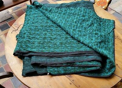 Vintage Retro Boucle vehicle Upholstery Fabric VW Camper 10 yards. 390 inch