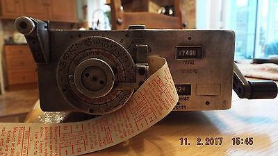 Vintage Setright Ticket Machine