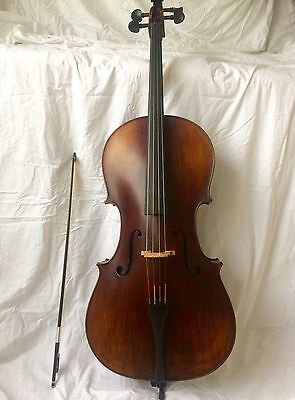 Beautiful YitaMusic 4/4 Intermediate  Cello and Bow here in UK fully set up.