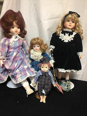 Vintage Dolls- Schmid Musical, Kingstate, Americana Collection