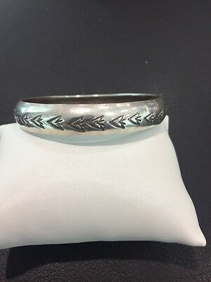 W Tracy Bangle Bracelete Sterling Armreif Tracy Sterling Navajo 925
