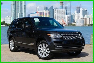 2015 Land Rover Range Rover 3.0L V6 Supercharged HSE 2015 3.0L V6 Supercharged HSE Used 3L V6 24V Automatic 4WD SUV Premium Moonroof
