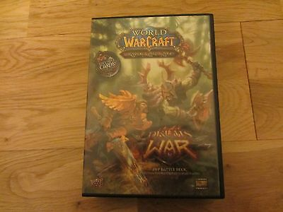 World Of Warcraft Drums Of War Pvp Battle Deck Trading Cards Set (3 Oversized)