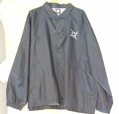 Metallica LARGE Rain Jacket
