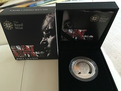 John Lennon SILVER proof coin from THE ROYAL MINT, U.K.