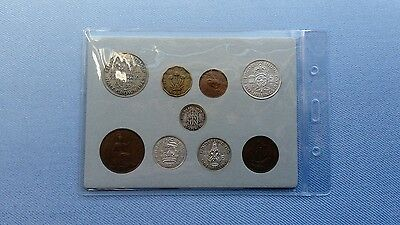 Vintage Great Britain(UK),1945 Coin Year Set.(72ND Birthday,With Silver.������.