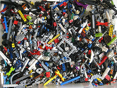 LEGO Bulk lot TECHNIC MINDSTORM PARTS 2 lb pound Beams Gears Axles