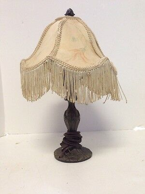 Vintage Victorian Style Desk Lamp And Shade