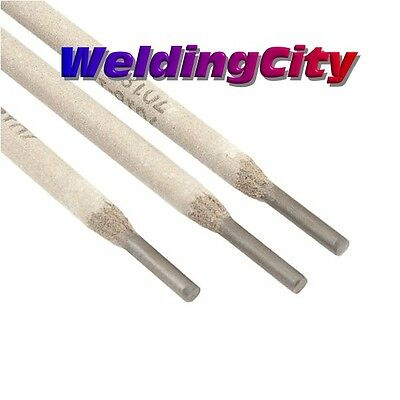 "WeldingCity 10-Lb E7018 3/32"" Stick Welding Electrode Mild Steel Rod Free Gloves"