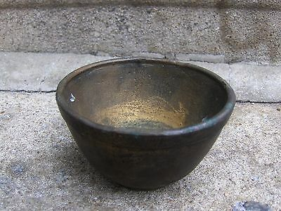 VINTAGE PYREX 1940's BRONZE INDUSTRIAL FOUNDRY BOWL MOLD VERY RARE