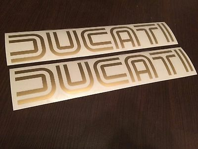 FOR DUCATI custom cafe racer decals stickers graphics logo set kit