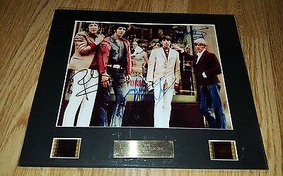 the who signed film cell music rock