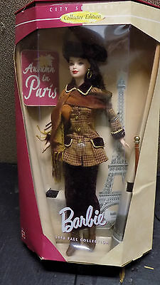 Barbie Autumn In Paris 1998 Fall Collection City Seasons Collector Edition