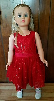 "patti playpal type doll 36"" vintage"
