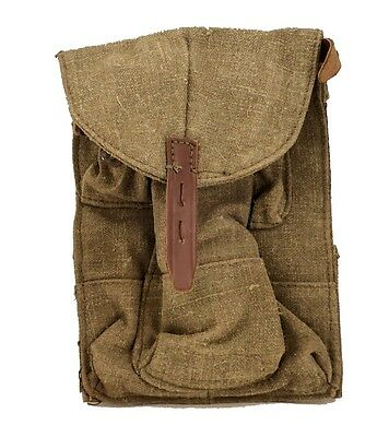 AK47 Original 3 Cell Ammo Pouch from military storage Original USSR