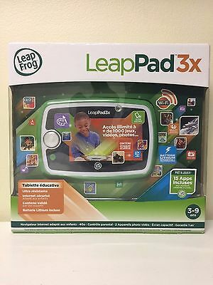 SEALED LeapFrog LeapPad 3x Learning Tablet (FRENCH / français Only)